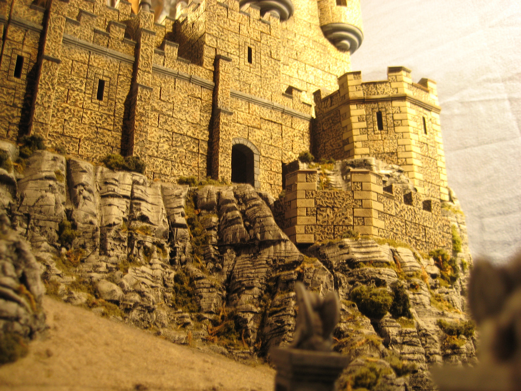 Randy Wolfmeyer castle terrain