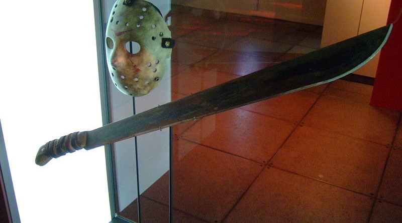 Horror props from Jason Vorhees